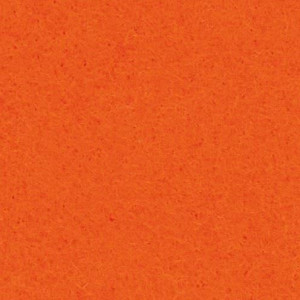 Filzplatte, 100% Polyester, 20 x 30 cm x 2.0 mm, 350 g/m², orange